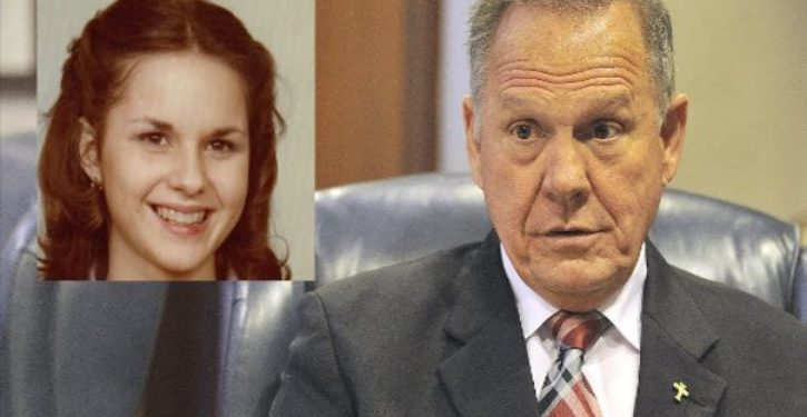 Mother of Roy Moore accuser contradicts key detail of sexual misconduct story