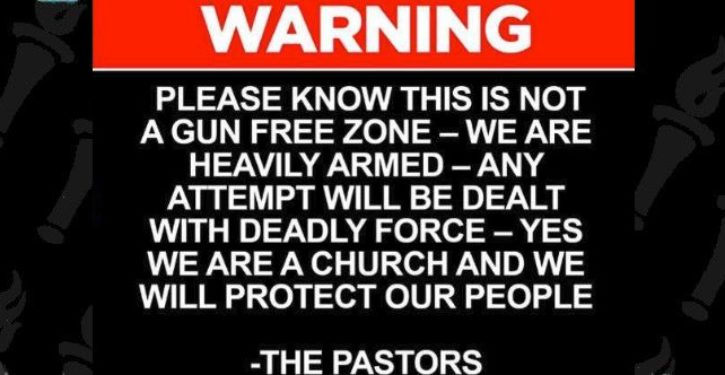 Tampa church warns: We are armed and ready to use deadly force