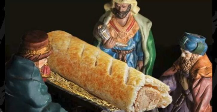 UK bakery chain apologizes after replacing Baby Jesus with a sausage roll