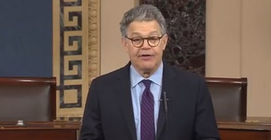 It's official: Al Franken announces he will resign his Senate seat 'in the coming weeks' by Howard Portnoy