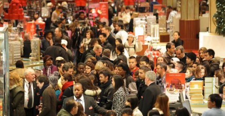 Retailers feel shoppers' Christmas cheer