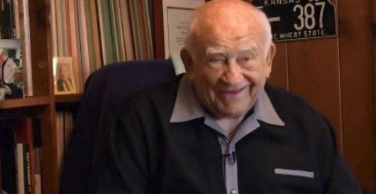 Classy: Ed Asner asks if he can urinate on Fox News producer by Joe Newby
