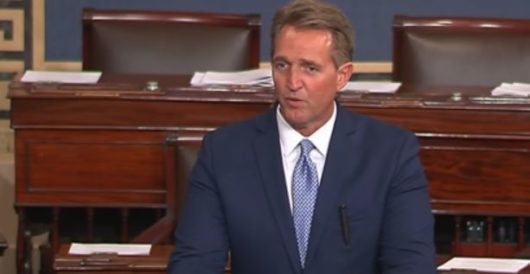 Great news: Jeff Flake joins Dems to introduce carbon tax bill in final days in office by Daily Caller News Foundation