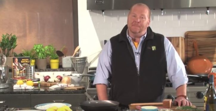 Mario Batali apologizes for sexually harassing women … then moves on to a recipe