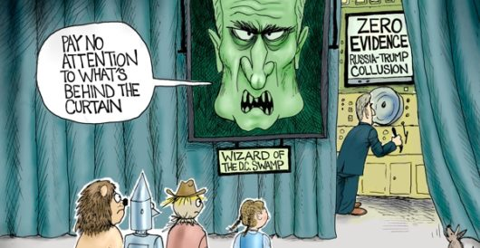 Cartoon of the Day: The Wizard of D.C. by A. F. Branco