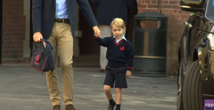 UK cleric under fire for suggesting prayer that Prince George might seek same-sex marriage