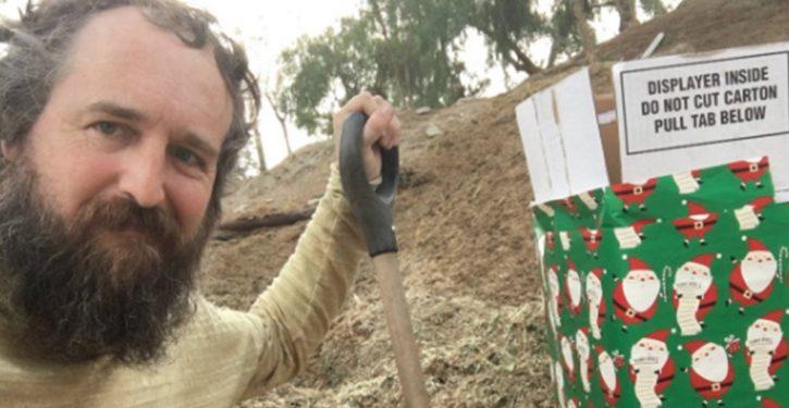 Great news: CA man explains why he left manure at Treasury Secretary Mnuchin's home