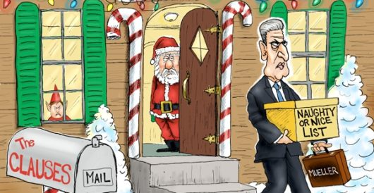 Cartoon of the Day: Scrooged by A. F. Branco