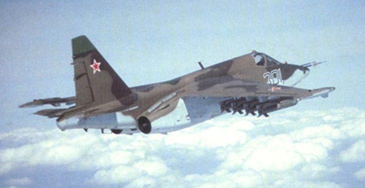 Syrian rebels shoot down Russian jet near Idlib