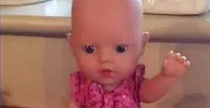 UK: Parents shocked when toddler's new talking doll says 'You bi**h'