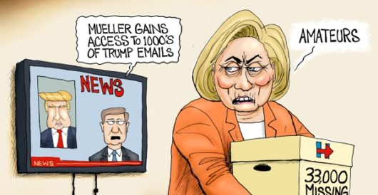 Cartoon of the Day: Mueller's got mail by A. F. Branco