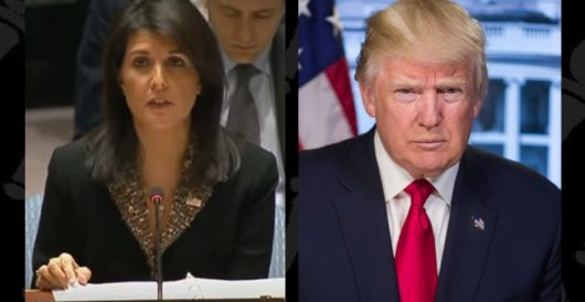 In statement to UN, Nikki Haley takes veiled swipe at Obama by Rusty Weiss