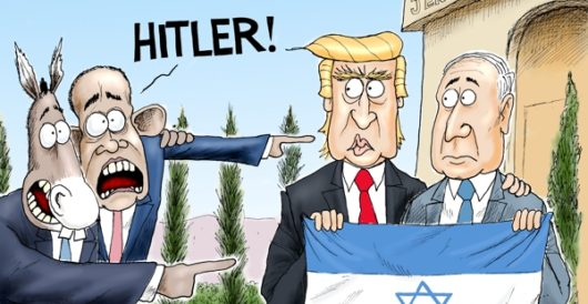 Cartoon of the Day: Playing der fuhrer card by A. F. Branco