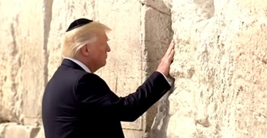 Israel to name new Western Wall train station after Donald J. Trump by J.E. Dyer