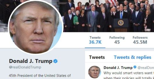 Donald Trump explains why he uses social media by LU Staff