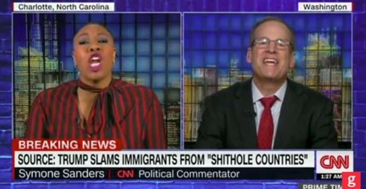 VIDEO: Sh*thole, unredacted, was yesterday's word of the day on CNN