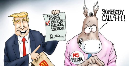 Cartoon of the Day: Code Blue by A. F. Branco