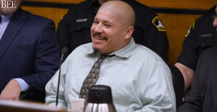 CA: Illegal on trial for killing cops laughs in courtroom, says he'll kill more