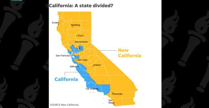 'New California,' made up of conservative counties, wants to secede from rest of state