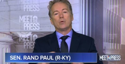 Rand Paul slams 'ridiculous' lockdowns, tells Fauci he's not the 'end-all' by Rusty Weiss