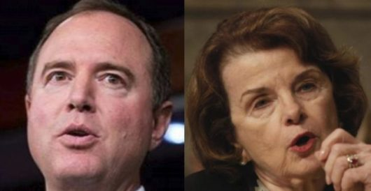 Dem lawmakers Schiff and Feinstein blame Russian bots for #ReleaseTheMemo hashtag by Joe Newby