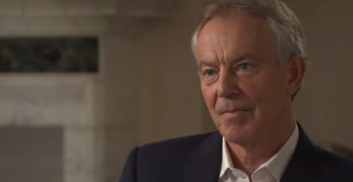 Tony Blair rejects claim he said UK intelligence spied on Trump campaign