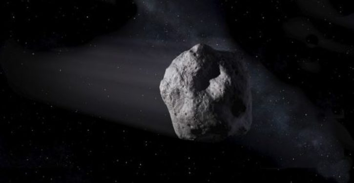 Asteroid roulette: Here comes another one