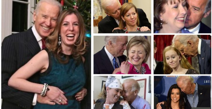 Joe Biden isn't a lecher; he's just got an 'affectionate, physical style' with women