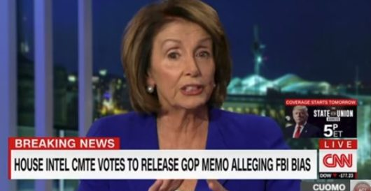 Pelosi snaps over GOP vote to release FISA memo, tells Chris Cuomo, 'You don't know what you're talking about' by Joe Newby