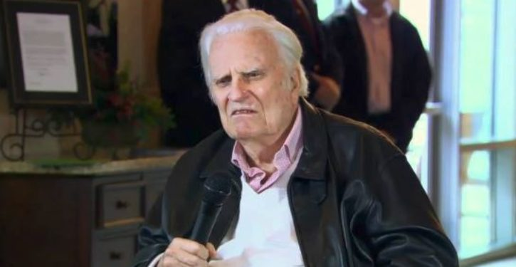 Party of tolerance cheers the death of 'evil piece of sh*t' Billy Graham