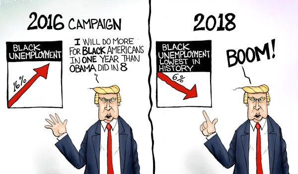 Cartoon of the Day: Black Unemployment Matters by A. F. Branco