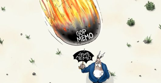 Cartoon of the Day: Duck and cover by A. F. Branco