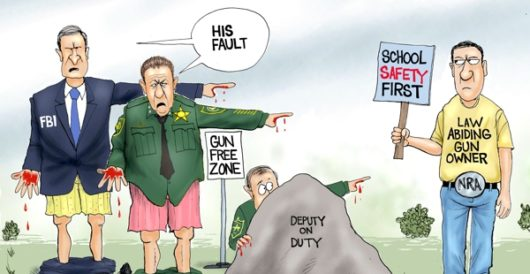 Cartoon of the Day: Amazing leader by A. F. Branco