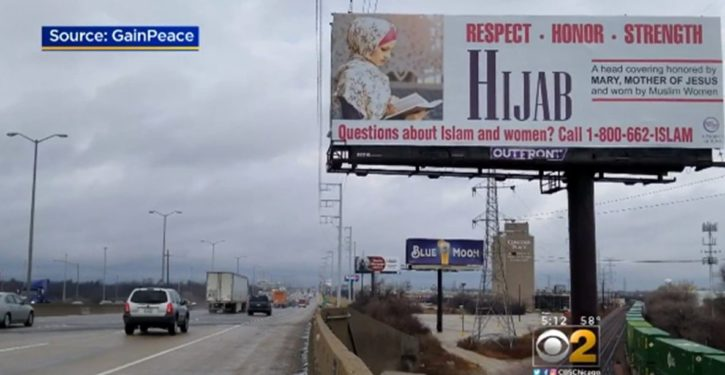 Chicago billboard campaign to 'teach' about hijab