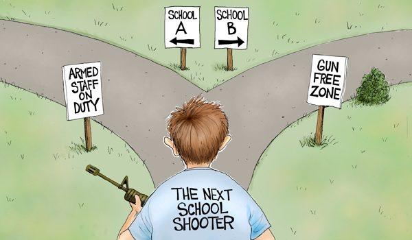 Cartoon of the Day: School choice by A. F. Branco