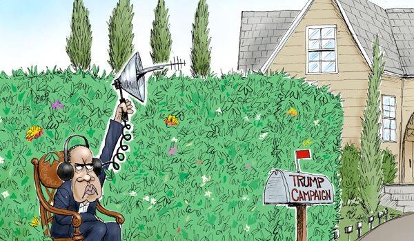 Cartoon of the Day: Bushwhacker by A. F. Branco