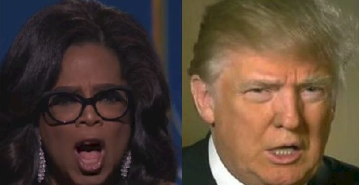 Why Trump vs. Oprah 2020 would be the greatest show on earth