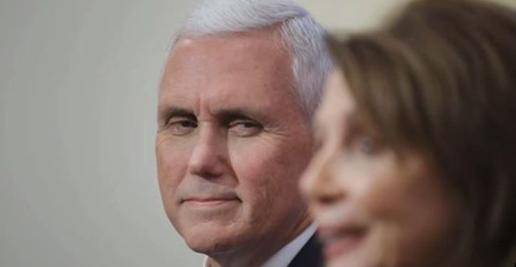 V.P. Pence called Pelosi to brief her on Iranian missile attacks; busy Speaker had unexpected response