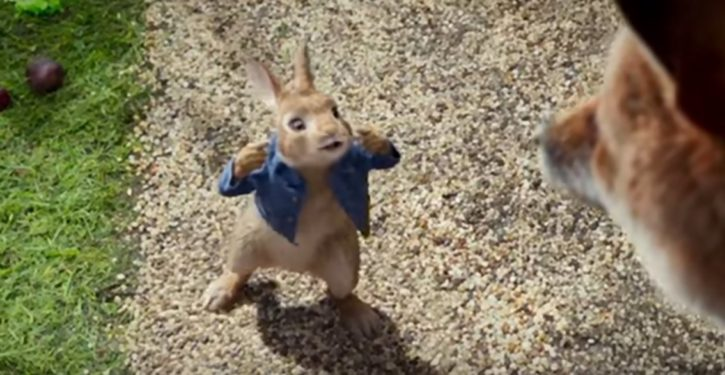 Seems like offended parents have a point about new 'Peter Rabbit' movie mocking allergies