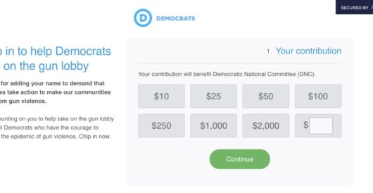 That was quick: DNC fundraising off Florida shooting by Ben Bowles