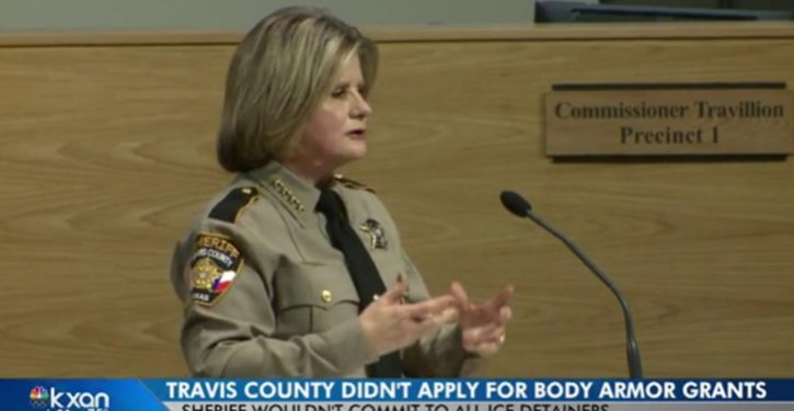 Texas: Travis County Sheriff would rather refuse ICE detainers than get body armor for deputies