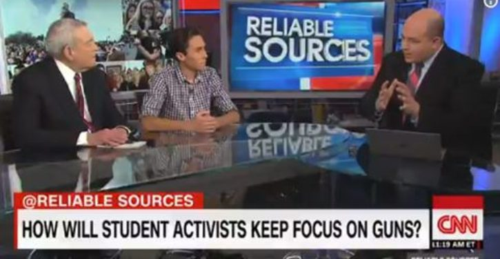 HS activist David Hogg's latest: NRA 'sells guns,' conservatives are 'anti-police'