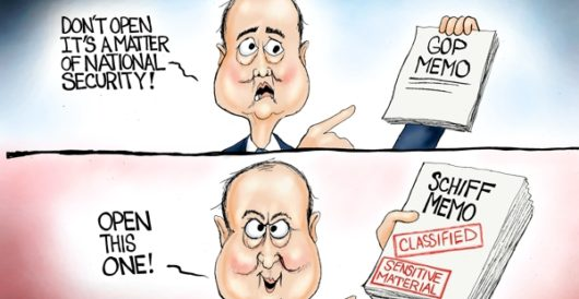 Cartoon of the Day: Schiff happens by A. F. Branco