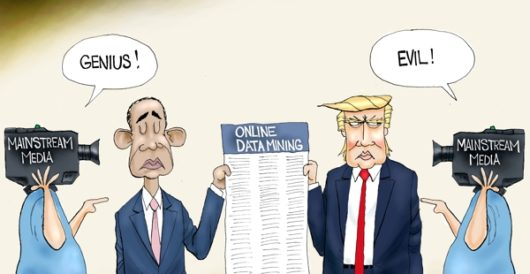 Cartoon of the Day: Who's your data? by A. F. Branco