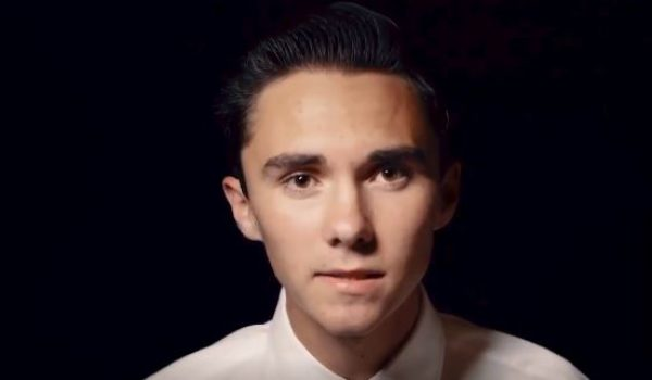 David Hogg: 'What if our politicians weren't the bitch of the NRA?' by Ben Bowles