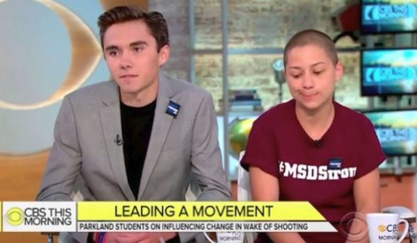 New proposal for reducing school violence has David Hogg and pals crying 'foul' by Howard Portnoy