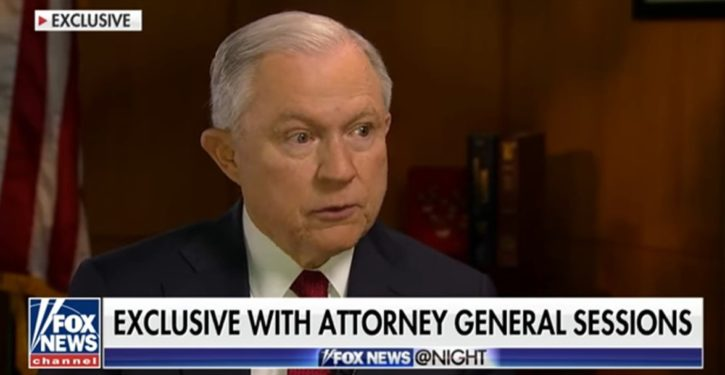A cryptic Jeff Sessions: I've 'appointed a person outside Washington' to investigate FISA abuses