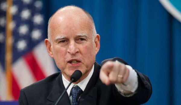 Gov. Jerry brown: 'Something's got to happen to' Trump, we must 'get rid of him' by Daily Caller News Foundation