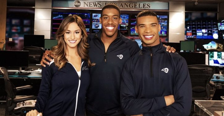 Ground-breaking: LA Rams will have 2 male cheerleaders dancing, kicking with female squad