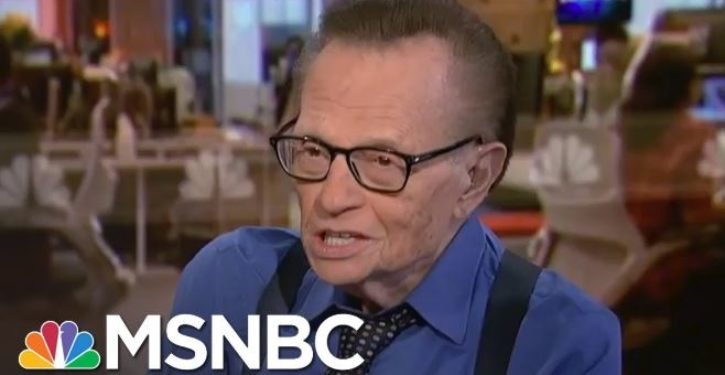 What's the real reason the Second Amendment was created? Larry King has the answer